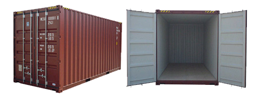 20 pedu konteineris